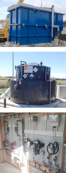 Equipment installation & Commissioning - Chemical Feed Solutions